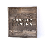Custom listing for Annita Emerson – 40x30