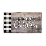 plaid – farmhouse Christmas