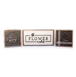Spring MINIS – ALL THREE DESIGNS (white flower market | black hello spring & bloom)
