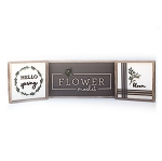 Spring MINIS – ALL THREE DESIGNS (black flower market | white hello spring & bloom)