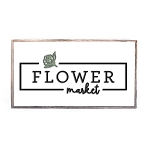 SPRING MINI – FLOWER MARKET (WHITE)
