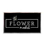 SPRING MINI – FLOWER MARKET (BLACK)