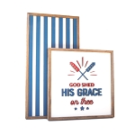 God shed his grace on thee – Fourth of July Set of 2