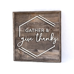 Gather and Give Thanks – OurFauxFarmhouse