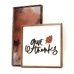 Give Thanks 2020– Thanksgiving Set of 2