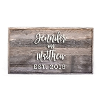 Wedding guest book (rectangle)