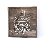 Save Water – Shower together