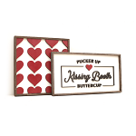 Kissing Booth – Valentines Set of 2
