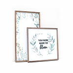 You were made to bloom – 2020 – Spring Set of 2