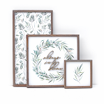 Spring set of 3 – 2020 – Always in Bloom (green)
