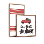 Home for the holidays (truck) + lines – Christmas 2020 Set of 2