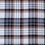ADD ON – plaid (brown & black)