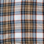 ADD ON – plaid (orange, brown & black)