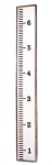 Growth chart/ruler
