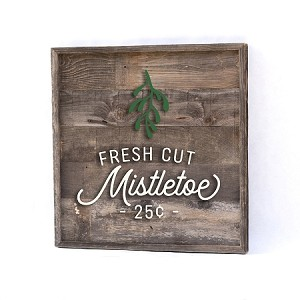 Fresh Cut Mistletoe (square)