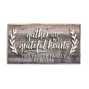 Family Name – Gather Here with Grateful Hearts
