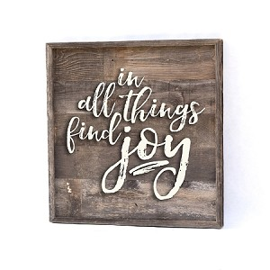 In All Things Find Joy