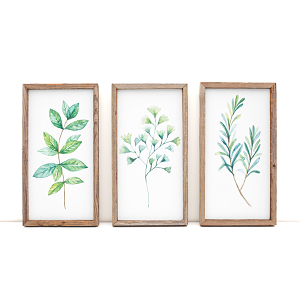 Green Herbs ° 2020 ° Spring Set of 3