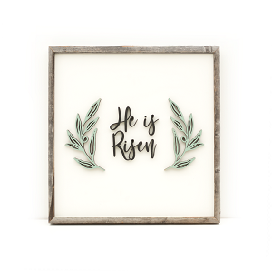 He is Risen – white