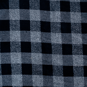 ADD ON – plaid (gray & black)