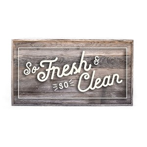 SO Fresh and So clean - rectangle